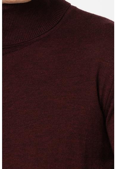 Jack&Jones Pulover din lana Merinos cu guler inalt Mark Barbati