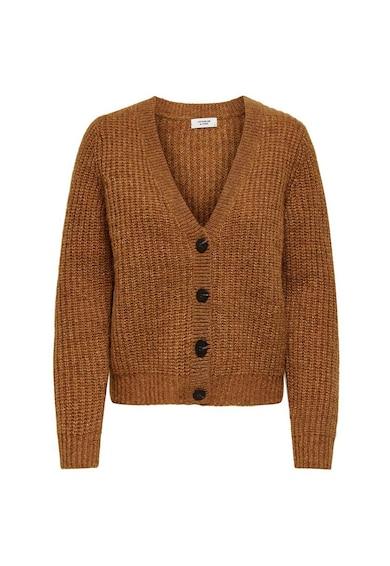 JdY Cardigan din amestec de lana, cu nasturi Femei