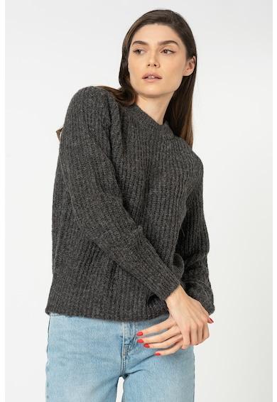 JdY Pulover din amestec de lana cu decolteu la baza gatului Tessa Femei