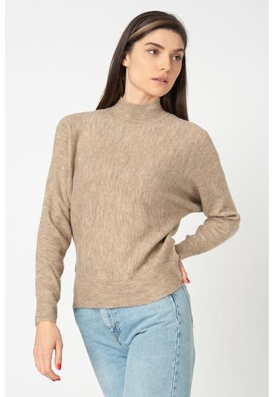 Only Corinne pulóver középmagas gallérral női