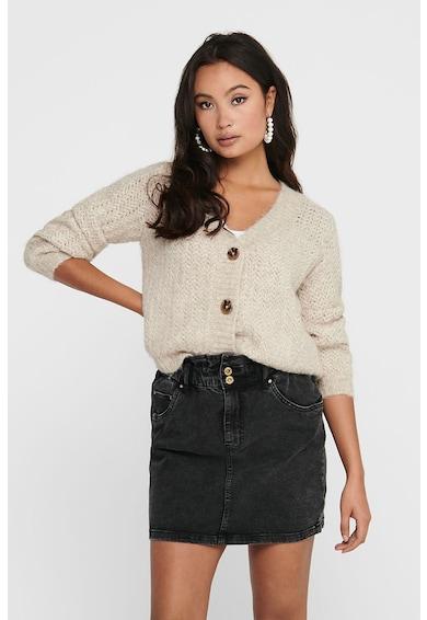 Only Cardigan din amestec de lana, cu decolteu in V Christie Femei
