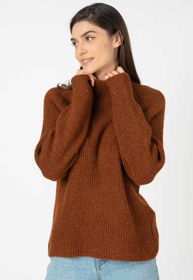 Only Pulover tricotat cu maneci raglan Jada Femei