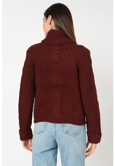 Only Daisy finomkötött pulóver garbónyakkal női