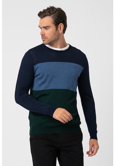 Gant Kerek nyakú merinógyapjú pulóver férfi