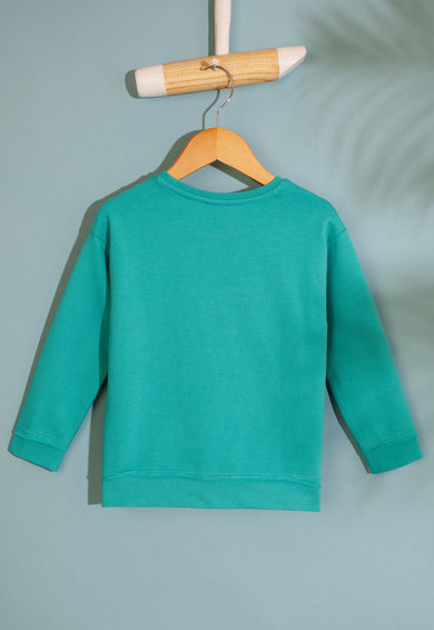 U.S. Polo Assn. Bluza sport cu imprimeu logo Fete