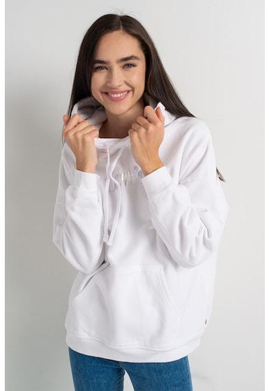 Levi's Kapucnis pulóver logóhímzéssel női