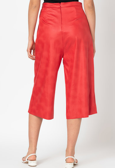 Antonia M Pantaloni culotte cu talie inalta Femei