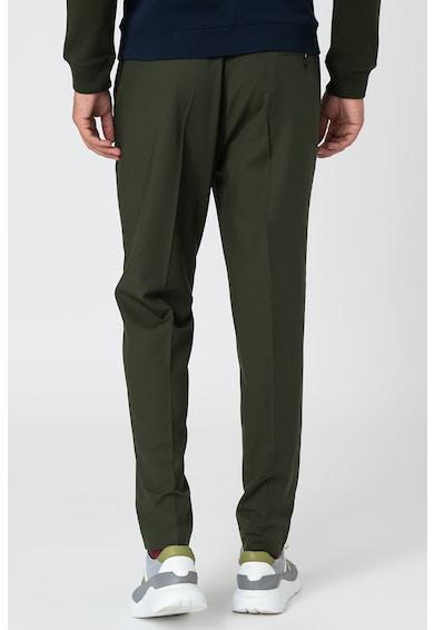 Lacoste Pantaloni din amestec de lana cu talie elastica Barbati