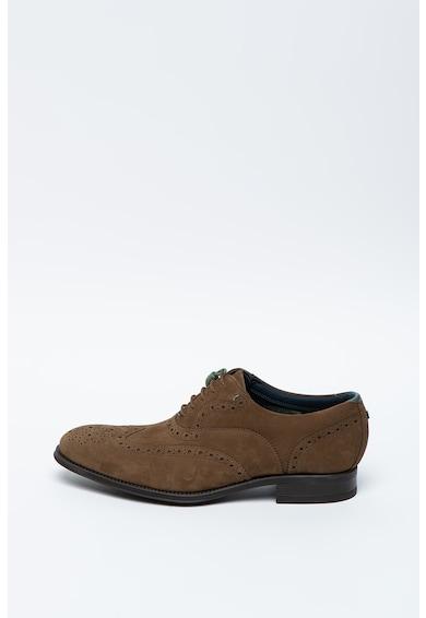 Ted Baker Pantofi Oxford de piele intoarsa Pellan Barbati