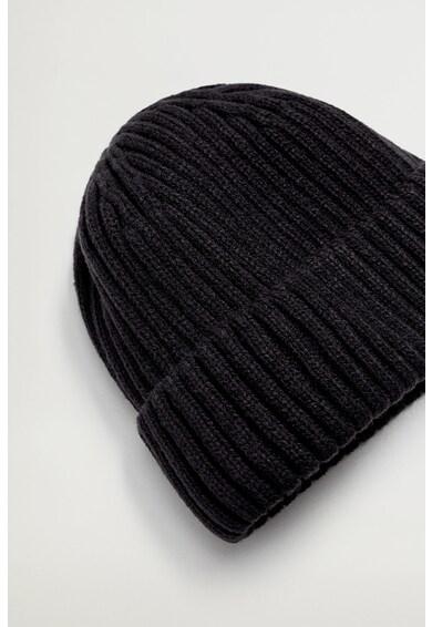 Mango Плетена шапка Short Мъже