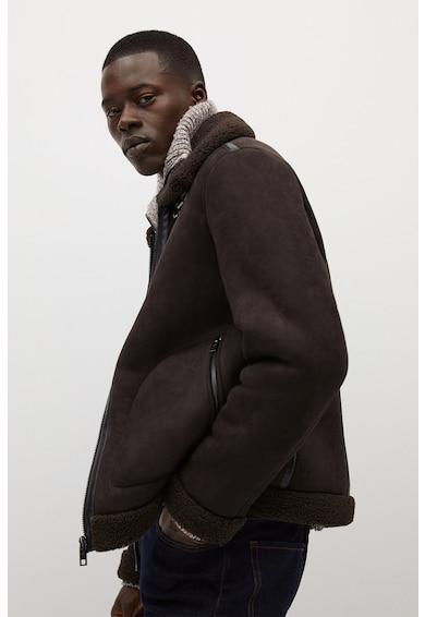 Mango Brenta irha hatású bélelt dzseki férfi