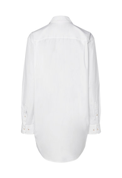 Tommy Hilfiger Дълга риза с бродирано лого Жени