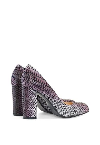 Diane Marie Scarlett vastag sarkú bőr és nyersbőr cipő női