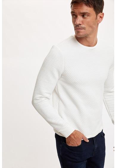 DeFacto Bluza sport slim fit cu aspect texturat Barbati