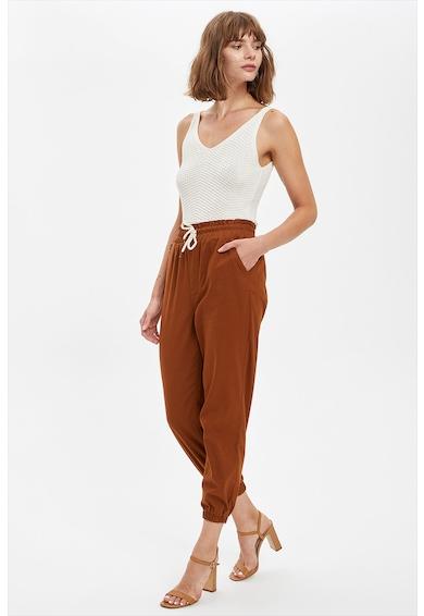 DeFacto Pantaloni jogger crop Femei