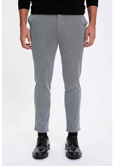 DeFacto Pantaloni chino slim fit Barbati