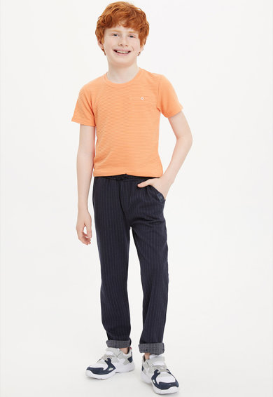 DeFacto Pantaloni in dungi cu snur Baieti