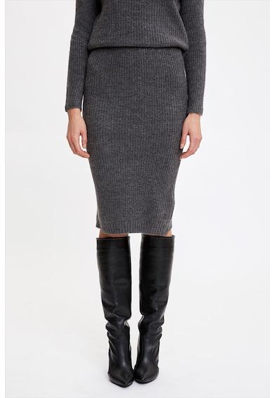 DeFacto Bordázott hatású finomkötött pulóver női