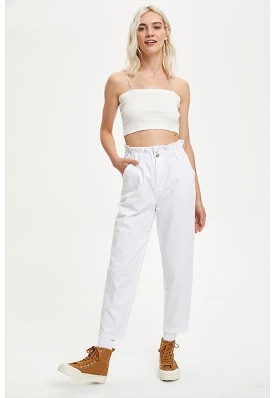 DeFacto Pantaloni crop cu croiala dreapta Femei