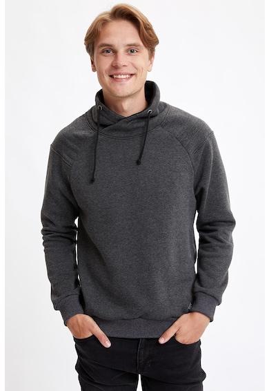 DeFacto Szűk fazonú pulóver sálgallérral férfi