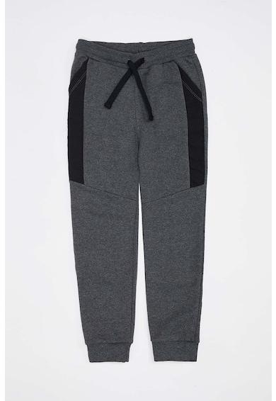 DeFacto Pantaloni sport cu insertii contrastante Baieti