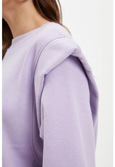 DeFacto Crop pulóver hangsúlyos vállakkal női