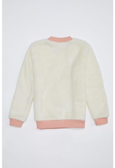 DeFacto Bolyhos pulóver egyszarvús dizájnnal Lány