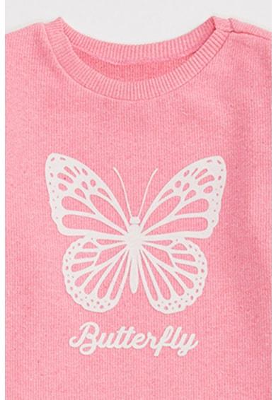 DeFacto Bordázott blúz pillangós mintával Lány