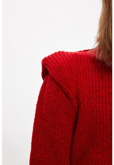DeFacto Texturált pulóver vállbetétekkel női