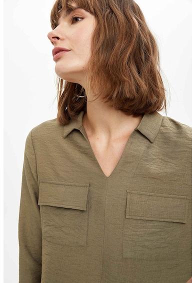 DeFacto Felső fedőlapos zsebekkel női