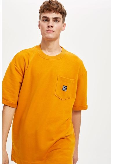 DeFacto Bő fazonú póló mellzsebbel férfi