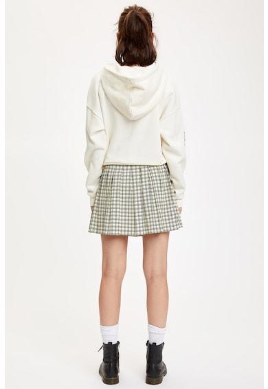 DeFacto Bővülő fazonú kockás miniruha női