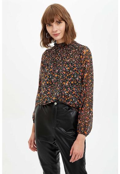 DeFacto Bluza vaporoasa cu model paisley Femei