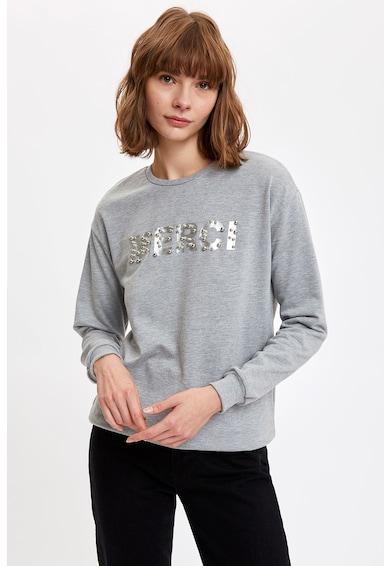 DeFacto Kerek nyakú és ejtett ujjú pulóver női