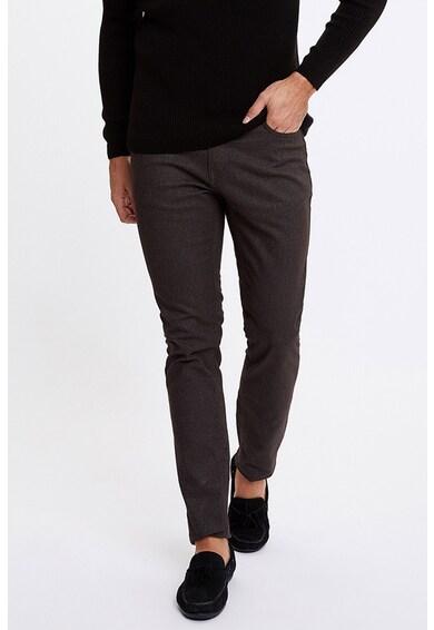 DeFacto Pantaloni slim fit din amestec de bumbac Barbati