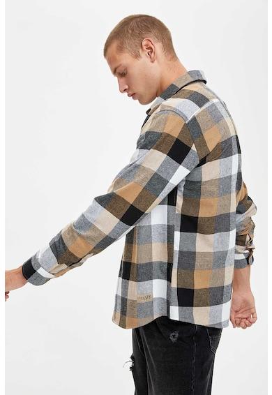 DeFacto Szűk fazonú kockás ing férfi