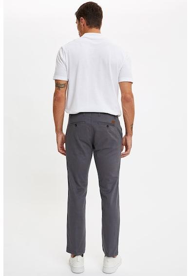 DeFacto Crop chino nadrág hasított farzsebekkel férfi