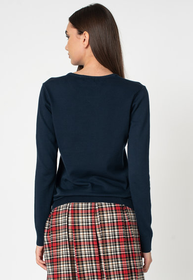 U.S. Polo Assn. Institutional kerek nyakú pulóver női