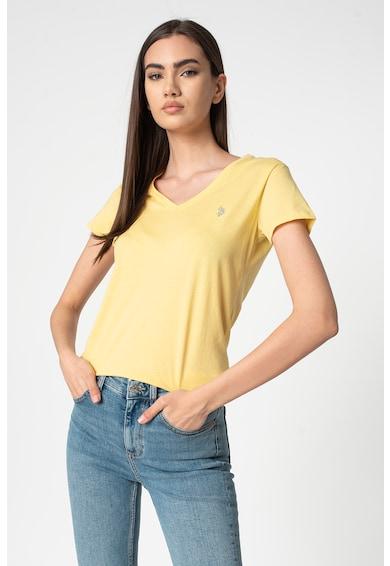 U.S. Polo Assn. Institutional V-nyakú póló női