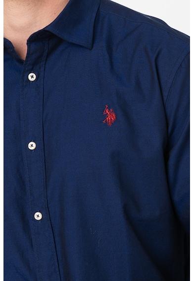 U.S. Polo Assn. Normál fazonú ing hímzett logóval férfi