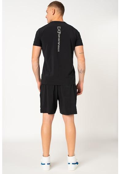 EA7 Póló és rövidnadrág szett logós részletekkel - 2 darabos férfi