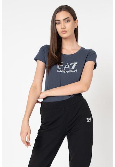 EA7 Kerek nyakú póló logóval női