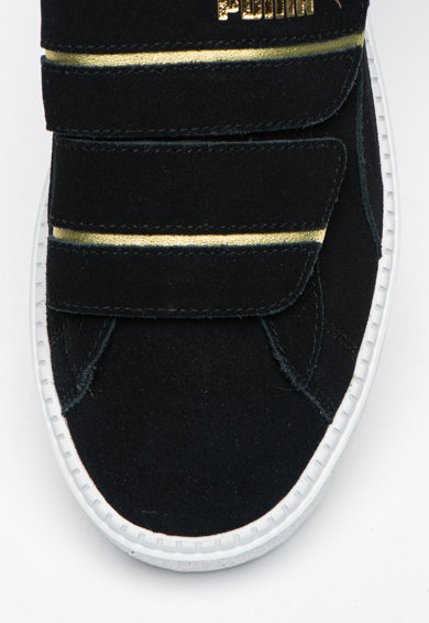 Puma Pantofi sport flatform de piele intoarsa Trace Strap Femei