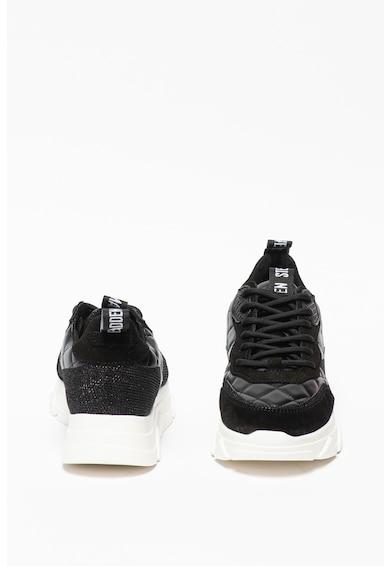 Steve Madden Pitty bőr és nyersbőr sneaker női