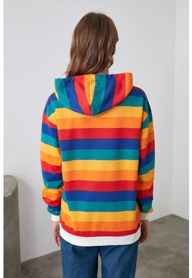 Trendyol Hanorac colorblock Femei