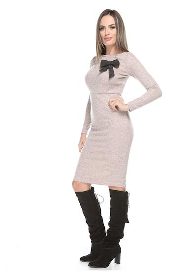 Roserry Szűkített fazonú kötött ruha levehető masnis részlettel női