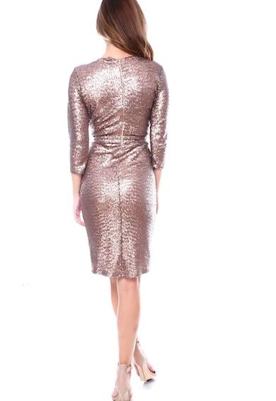 Roserry Átlapolós ruha flitteres rátétekkel női