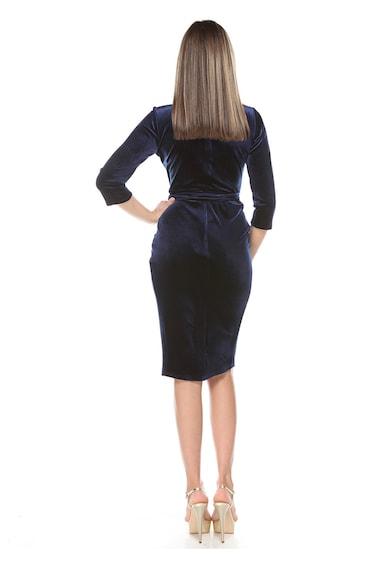 Roserry Bársonyhatású átlapolós ruha női