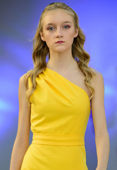 Ilona Andreoiu Sofia egyvállas ruha női