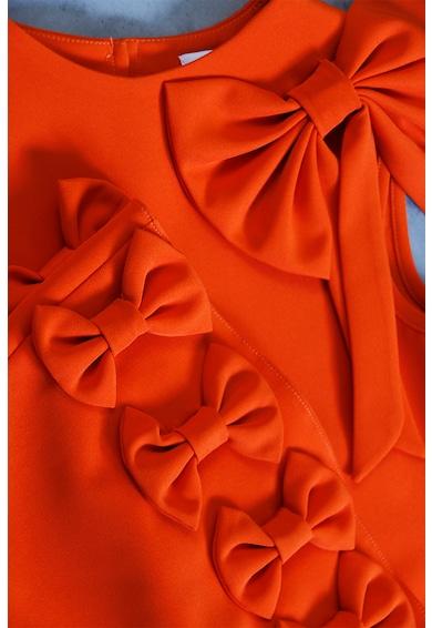 Ilona Andreoiu Sara egyenes szabású ruha masnis rátétekkel Lány